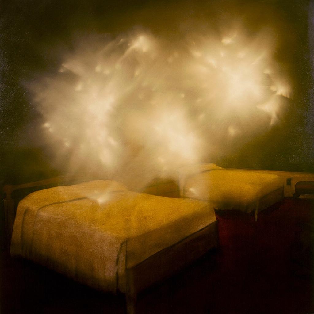 Jarik Jongman-Phenomena (5), 2009, 100 x 100 cm. Oil on canvas