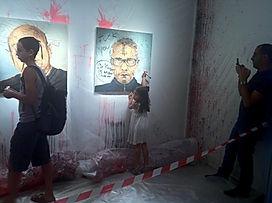 Jarik Jongman-(de)facing Revolt, MusraraMix Festival, Jerusalem, 2013