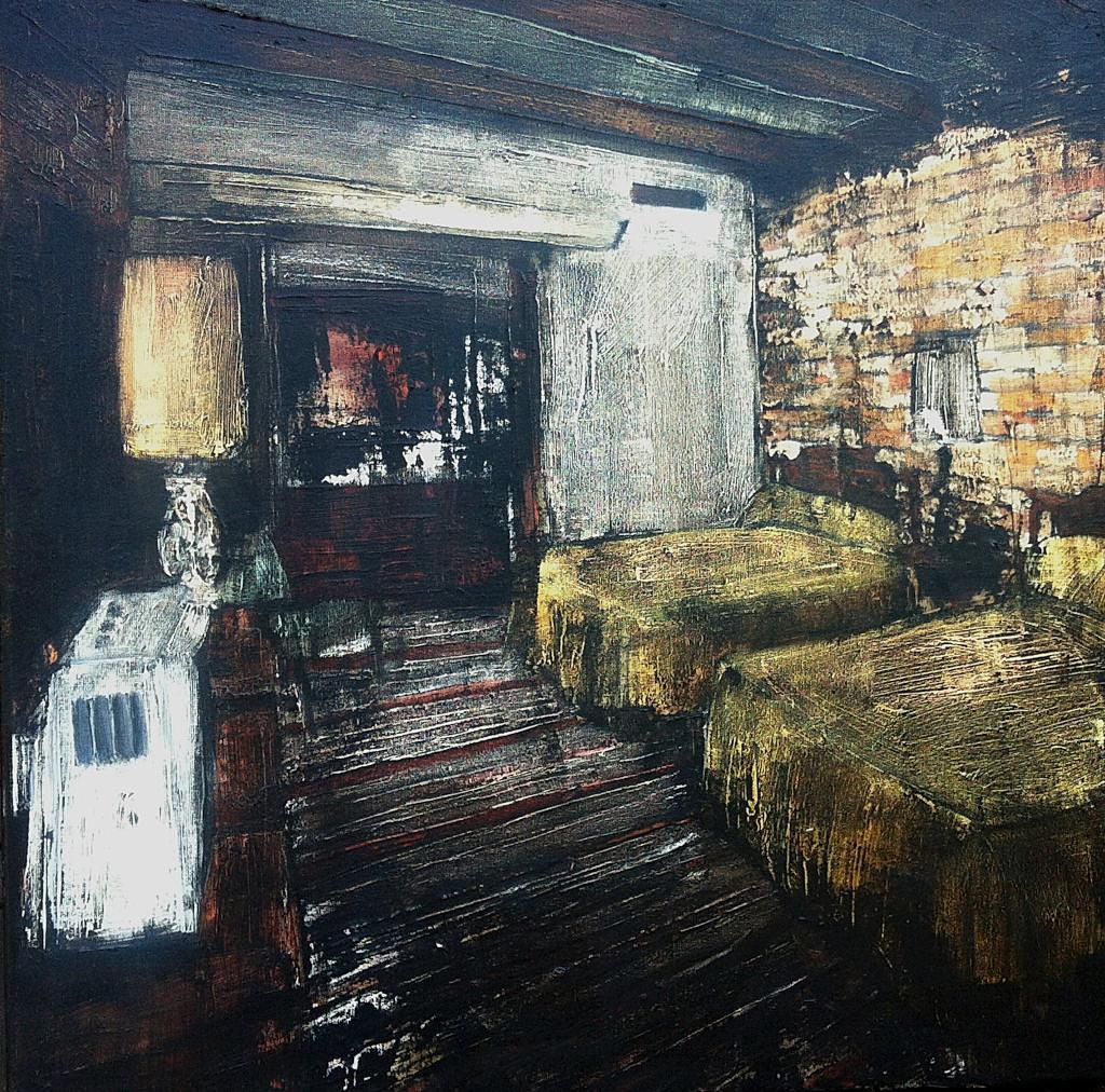 Jarik Jongman-Phenomena (22), 2015, 50 x 50 cm. Oil on canvas
