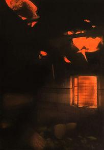 Jarik Jongman-'El olvido que seremos' (1) 100 x 60 cm. Hello Goodbye exhibition, 2010