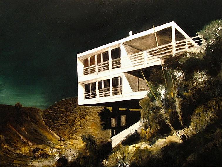 Jarik Jongman-House (2), 2015, 60 x 80 cm.  Oil on canvas