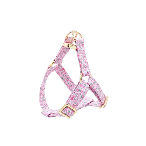 Country Pink Floral Harness