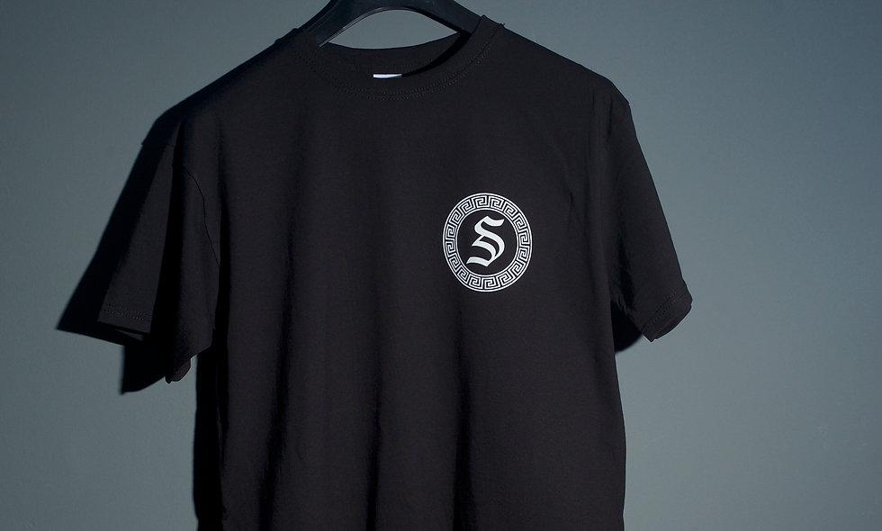 Skank fm Short Sleeve Black T-Shirt ( Season 1)