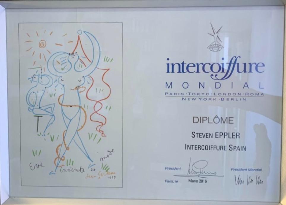 Diplome Intercoiffure Mondial