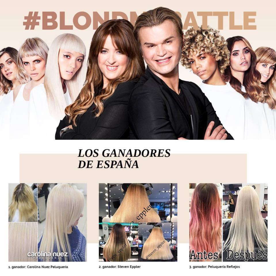 2nd. Winner BlondME Battler