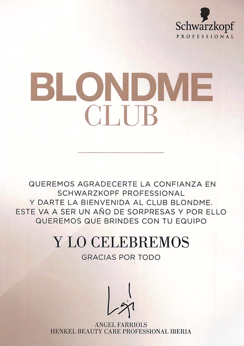 Blond Me Club