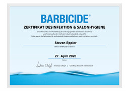 BarbicideCertificate Steven Eppler