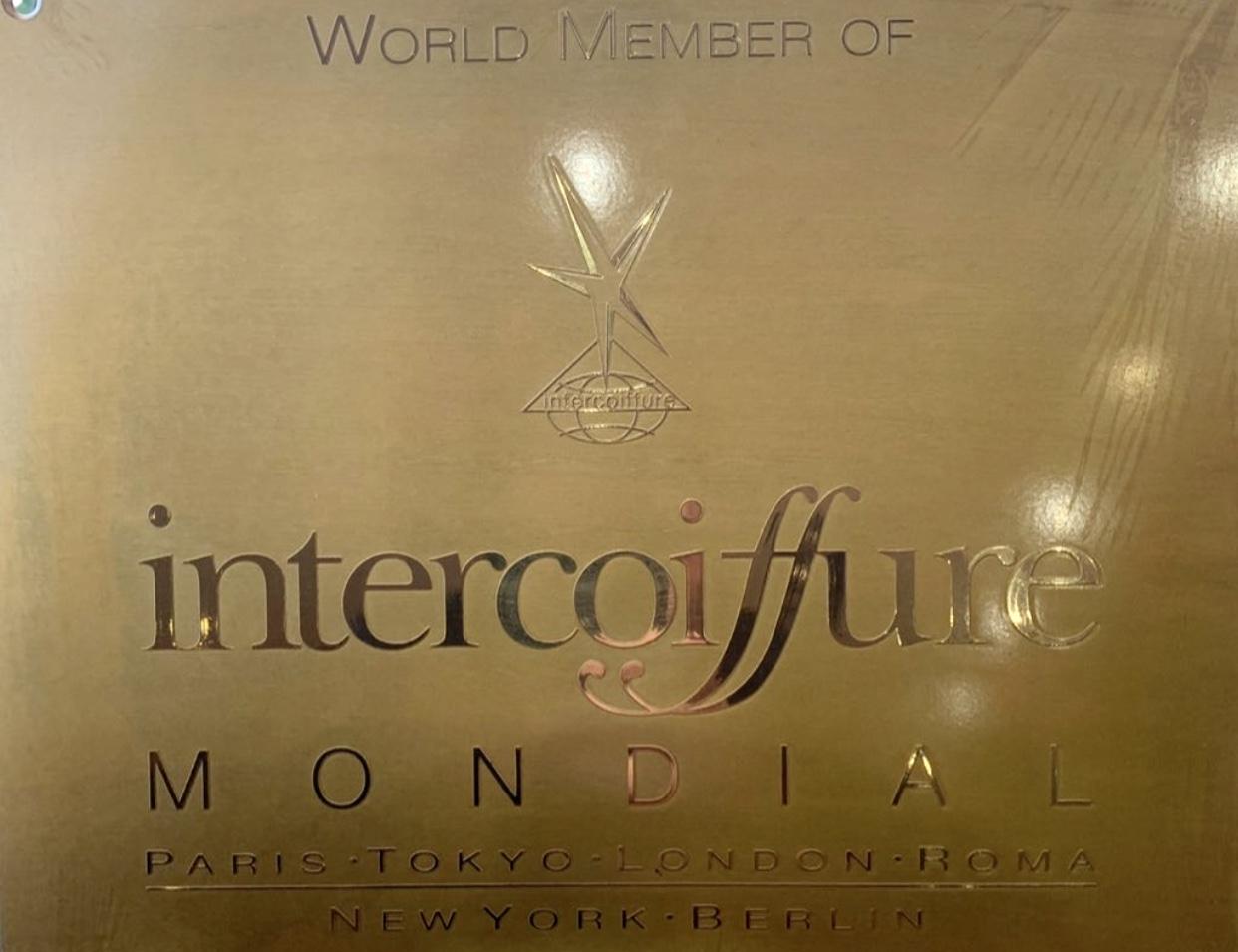Inter Coiffure Gold Plakete