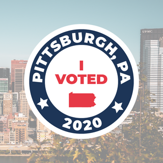 I Voted in Pittsburgh