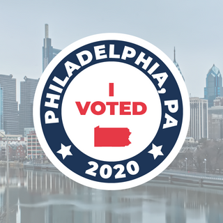 I Voted in Philadelphia