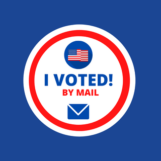 I Voted by Mail in Pennsylvania!