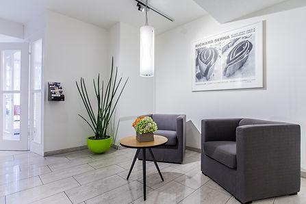 Eingangslobby von Schützenmatt Apartments AG Basel