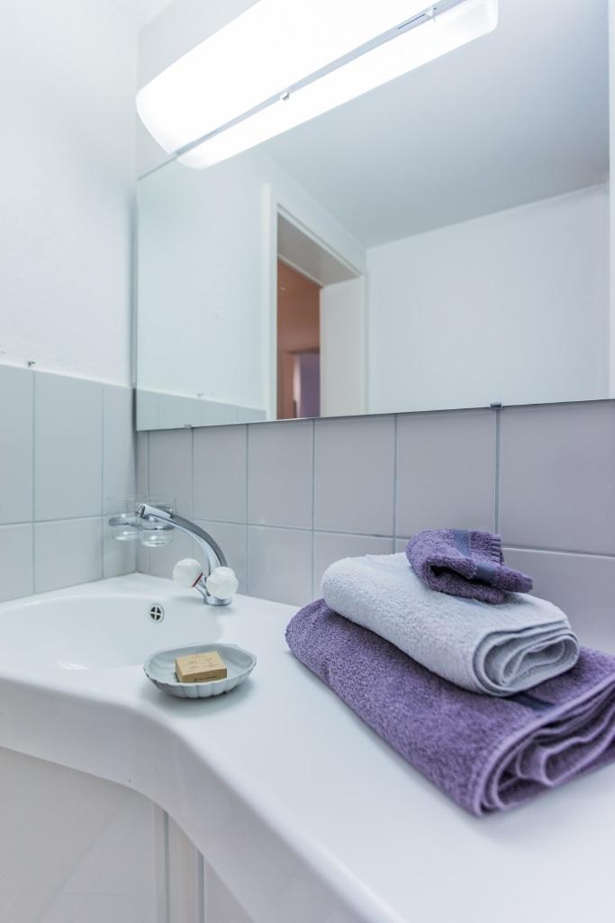Dachwohnung Badezimmer