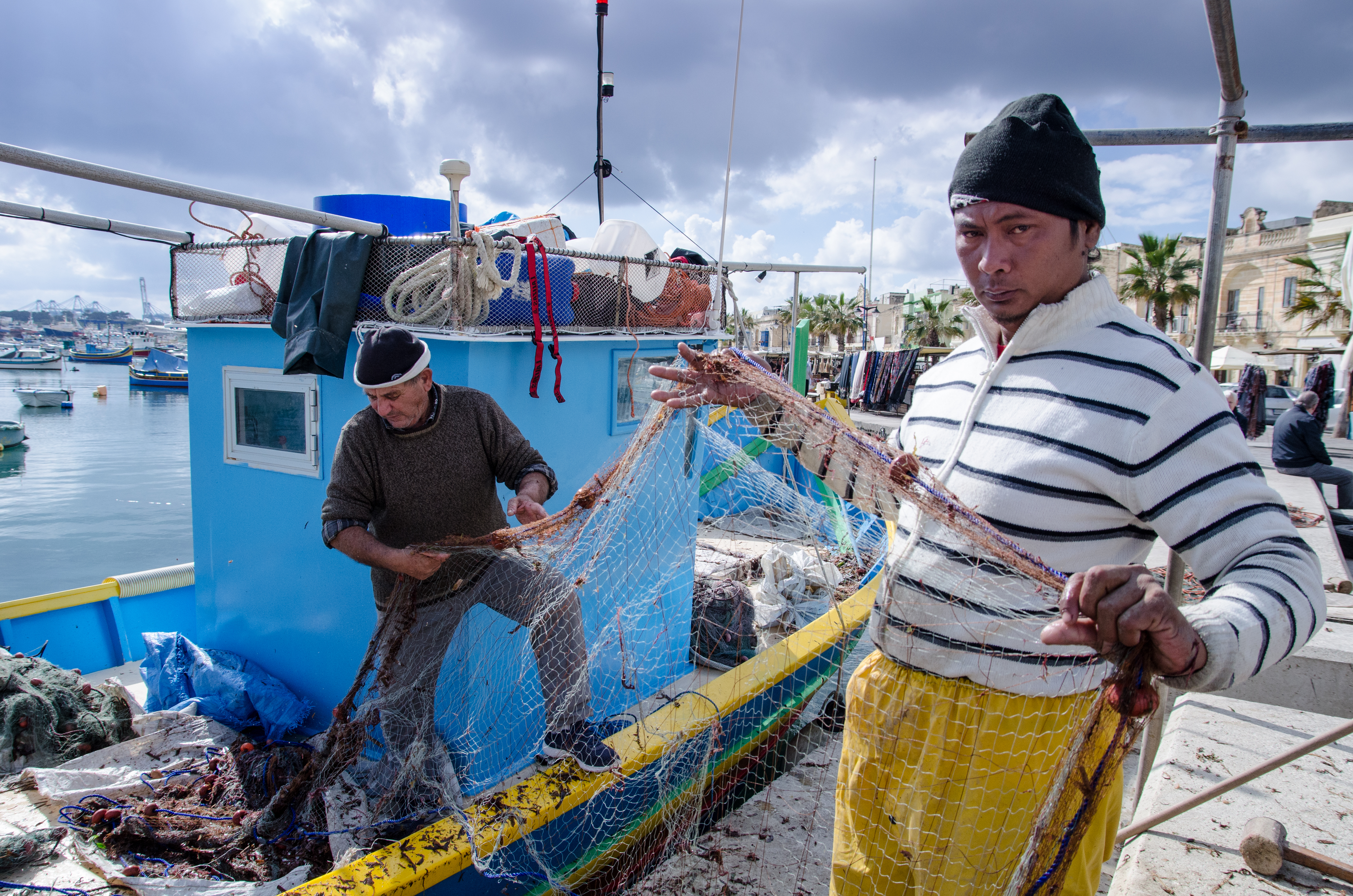 Malta Fisherman