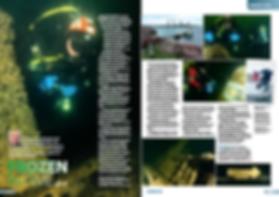 Baltic Sea diver magazine feature Will A