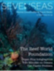 Seven Seas Magazine cover Will Appleyard