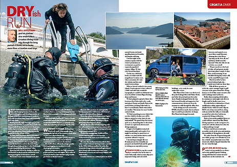 Croatian road trip feature for Divr magazine