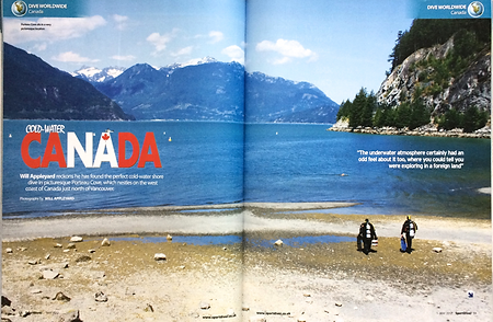 British Columbia, a feature for Sport Diver magazine