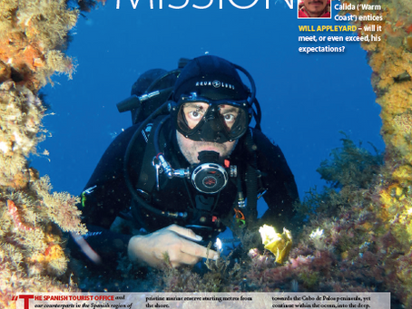 Murcia Mission : A feature for DIVER magazine