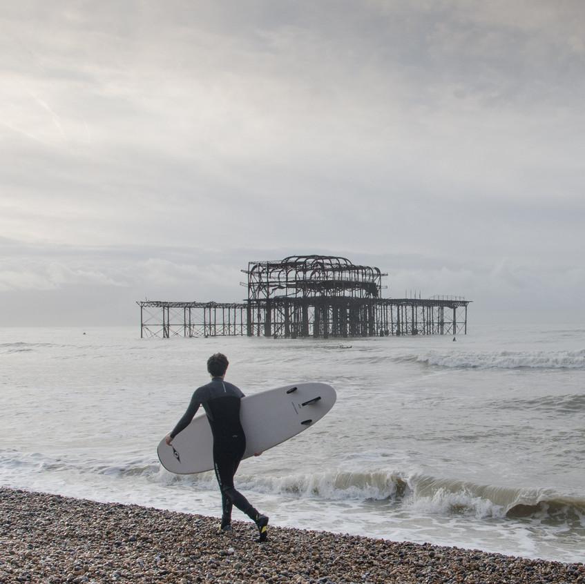Brighton surfers