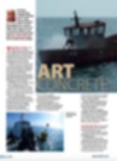 Brioney Victoria wreck feature for DIVER magzine