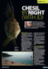 Night diving feature for DIVER magazine