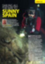 Spanish feature for DIVER magzine