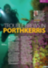 Porthkerris, a feature for DIVER magazine