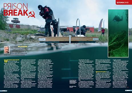 Rummu Prison feature DIVER magazine.png
