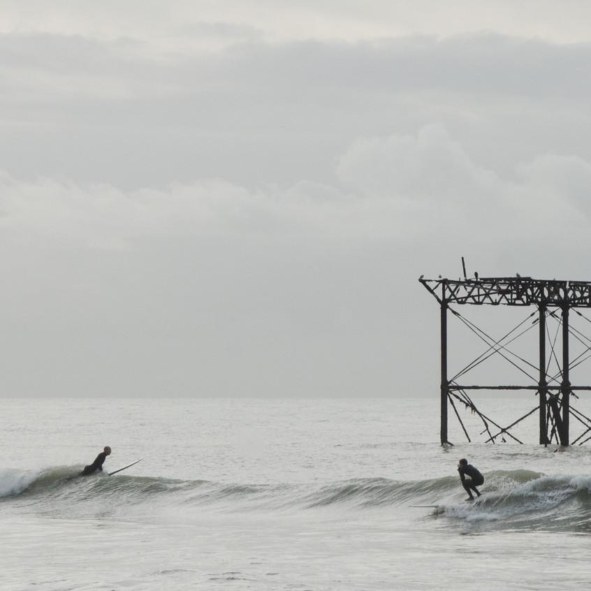 Two Brighton Surfers