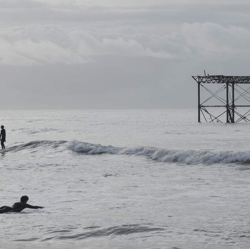 Surfing The West Pier