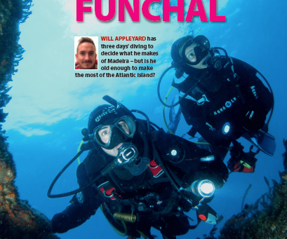 Madeira : A feature for DIVER magazine