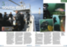 Plymouth, a feature for DIVER magazine