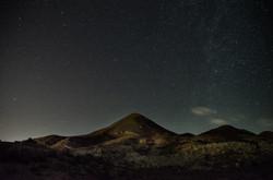 Gabo de Gata campo at night Will Appleya