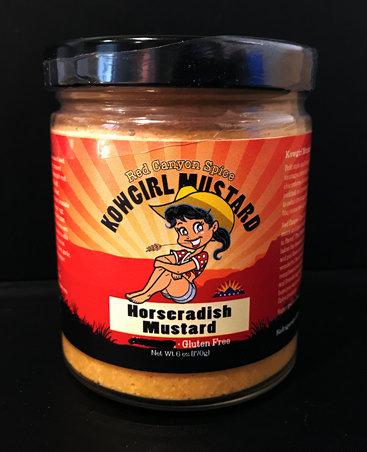 Kowgirl Horseradish Mustard