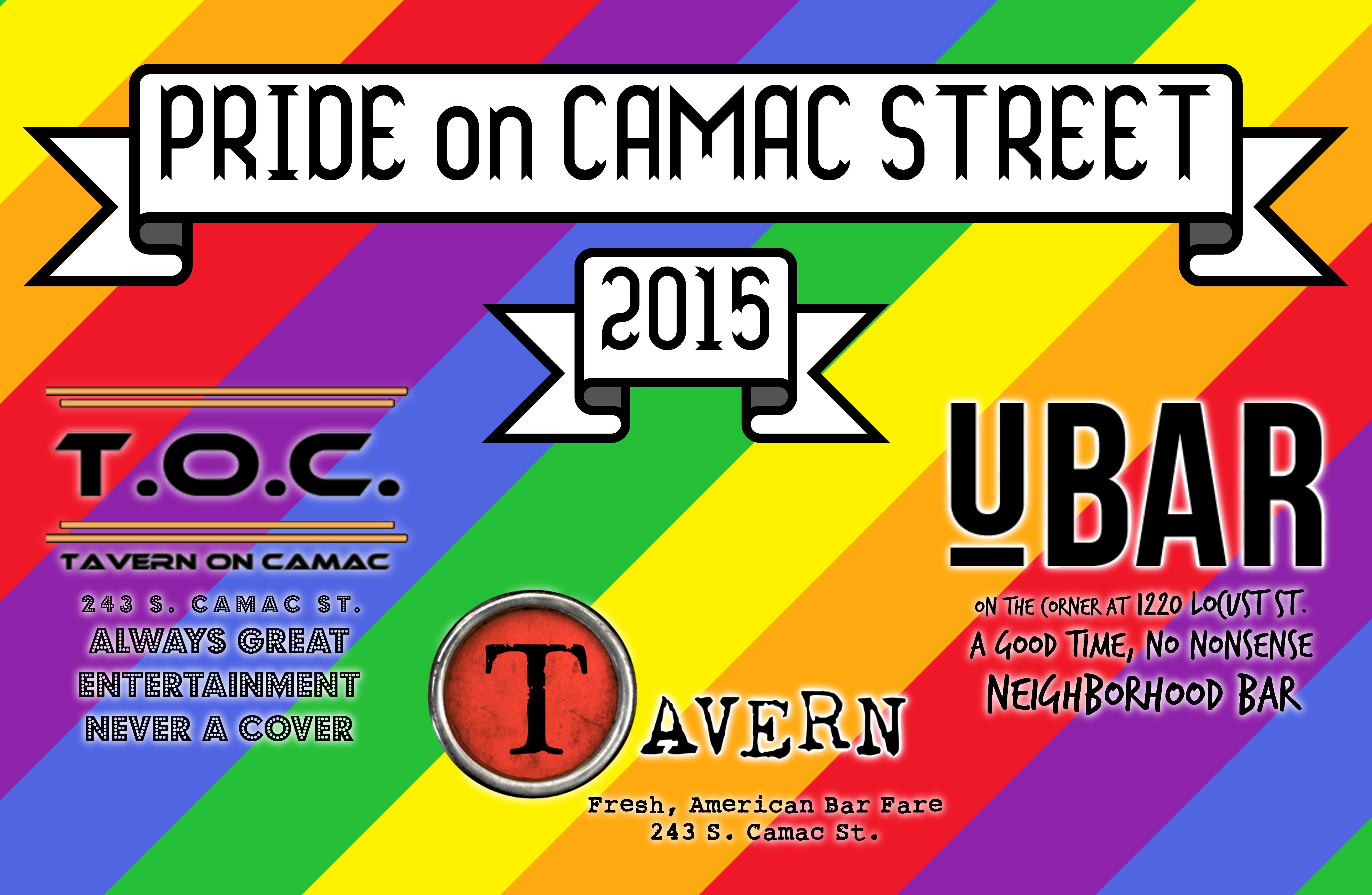 Philadelphia PRIDE on Camac Street
