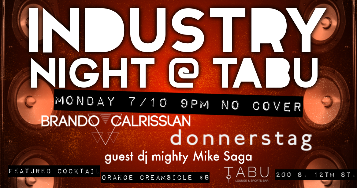 Industry Night @ Tabu