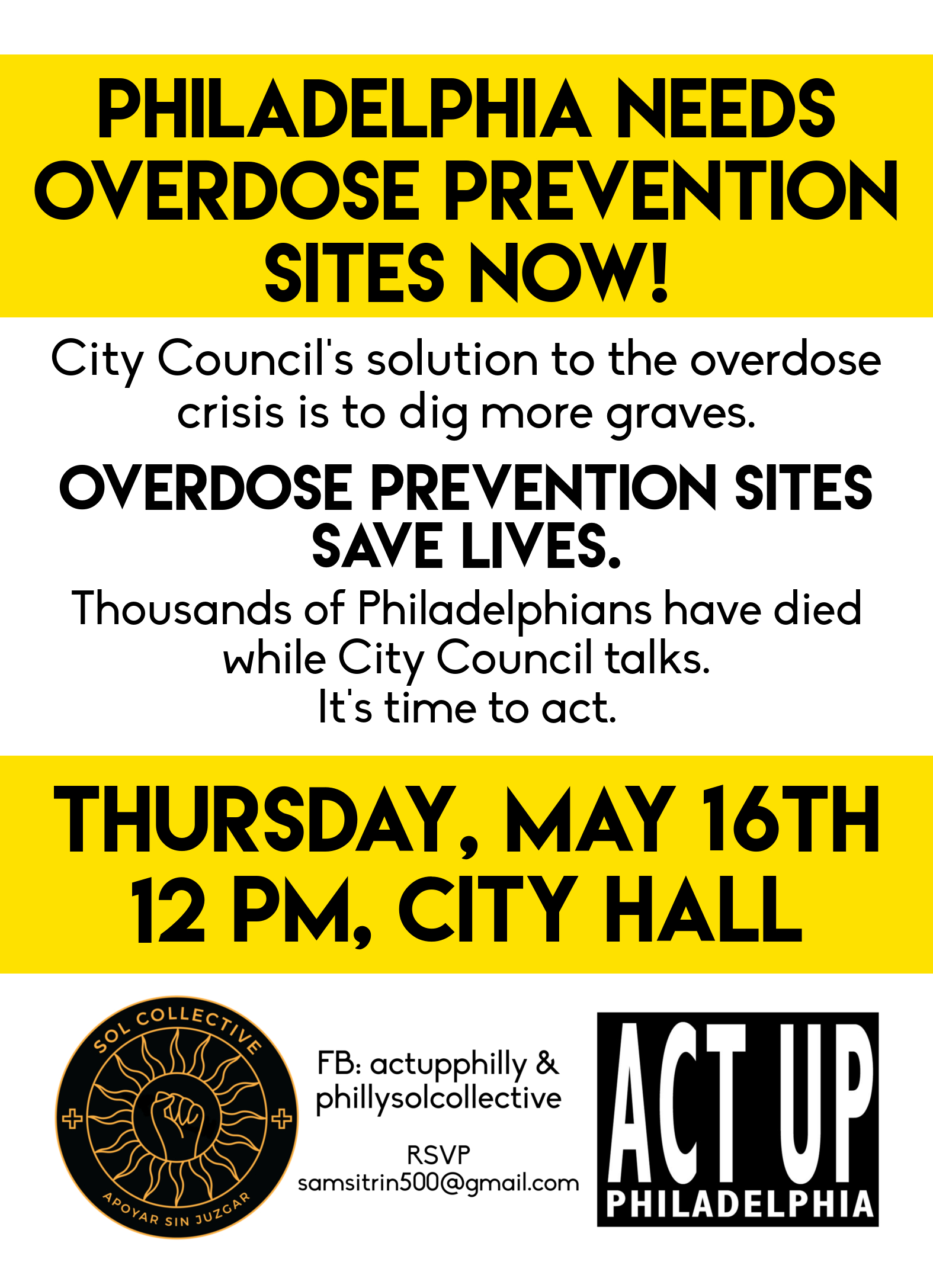 SOL Collective & ACT UP Philadelphia