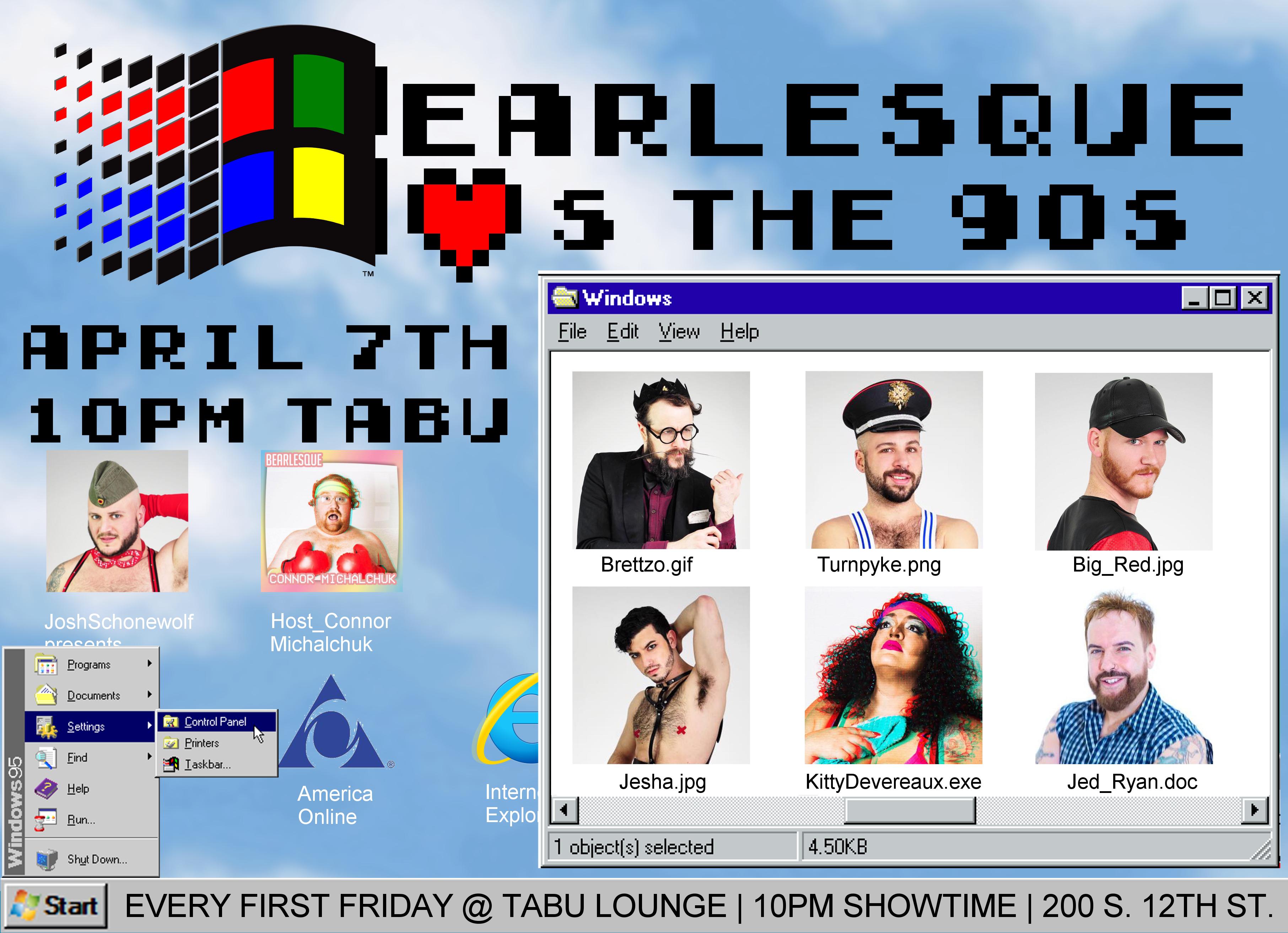 Bearlesque 90s Show