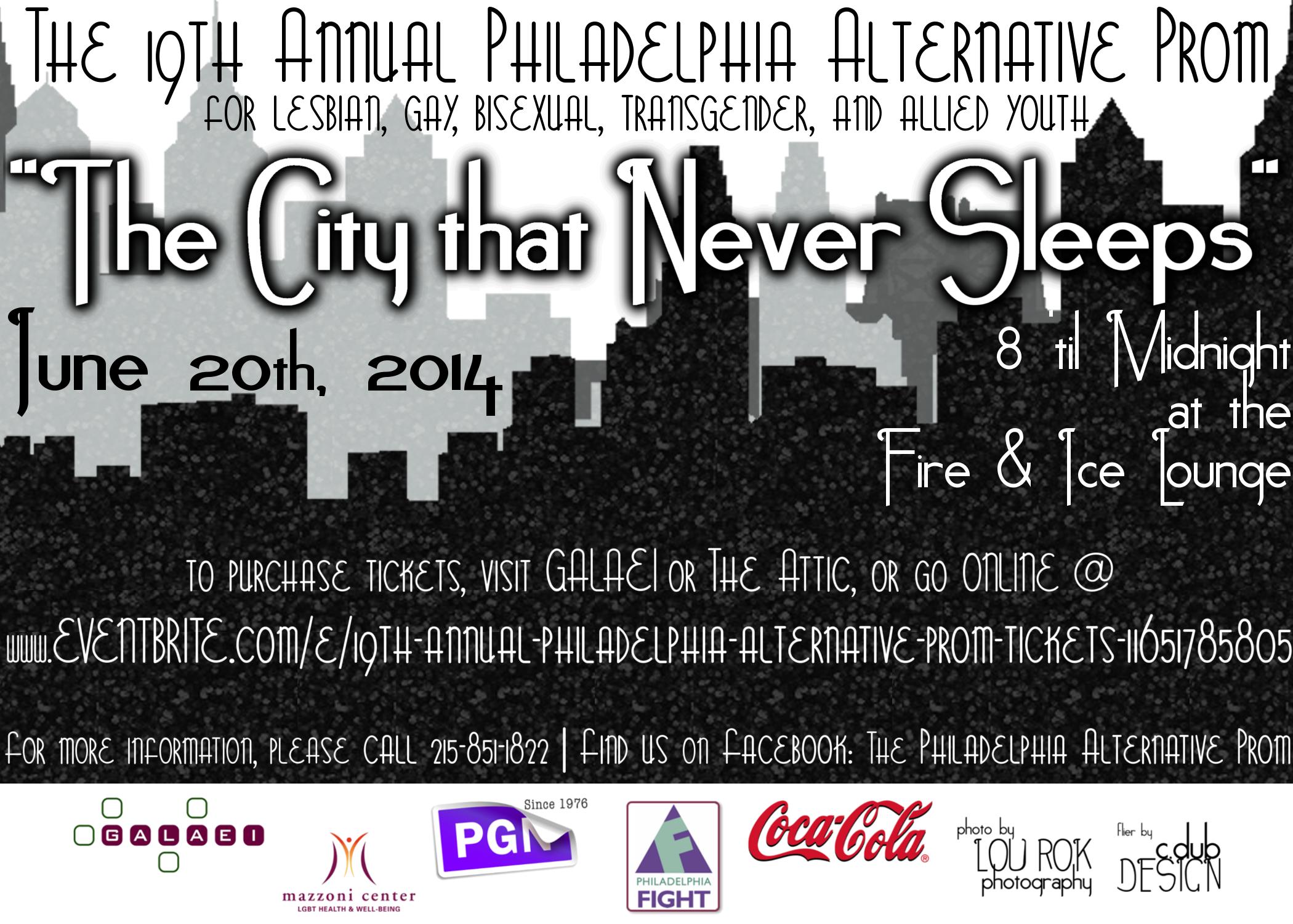 GALAEI Alternative Youth Prom 2014