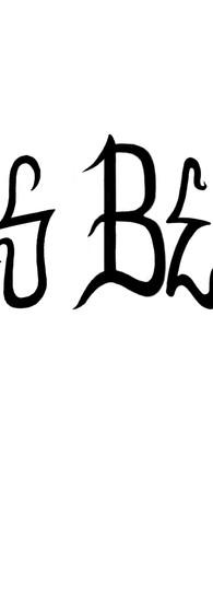 Hell's Belles custom lettering