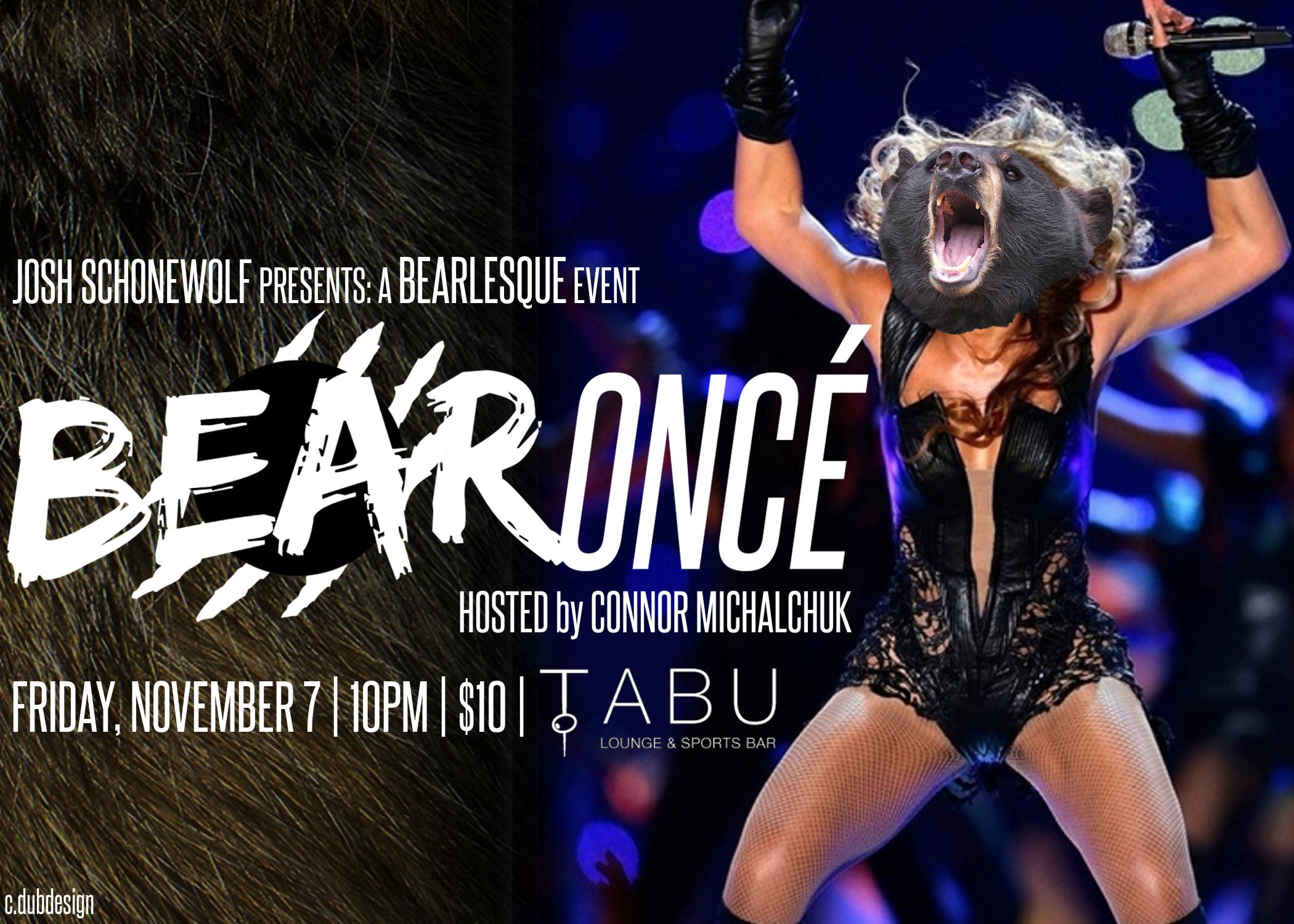 A Bearlesque Event: BEARONCE