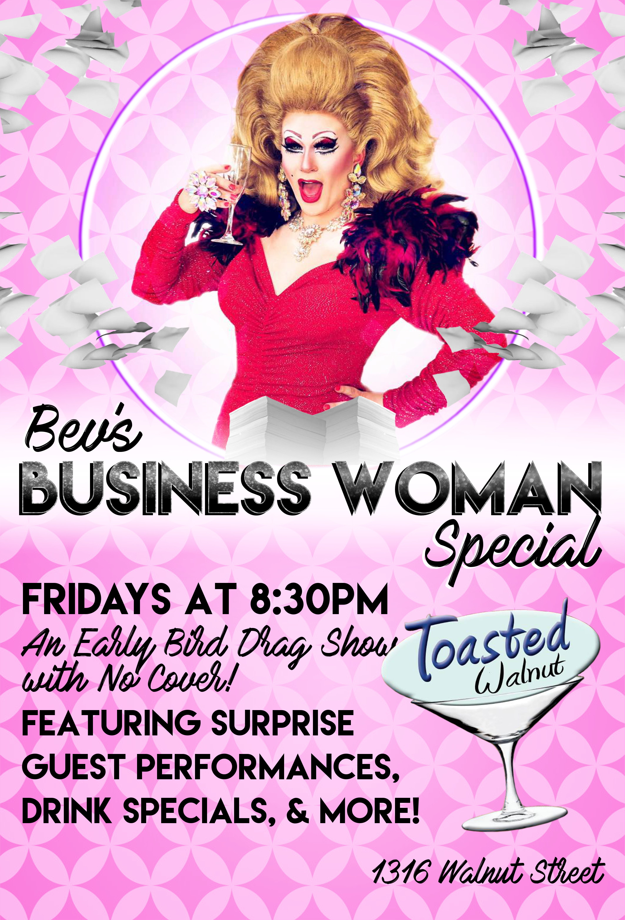 Bev's Business Woman Special