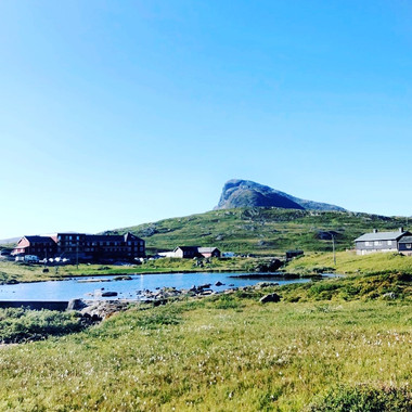 Nydelig utsyn fra Fjellyoga på Beitostølen