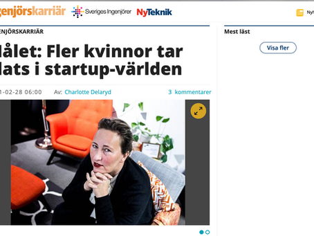 Tidningen Ny Teknik om rapporten.