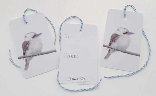 Kookaburra Gift Tags