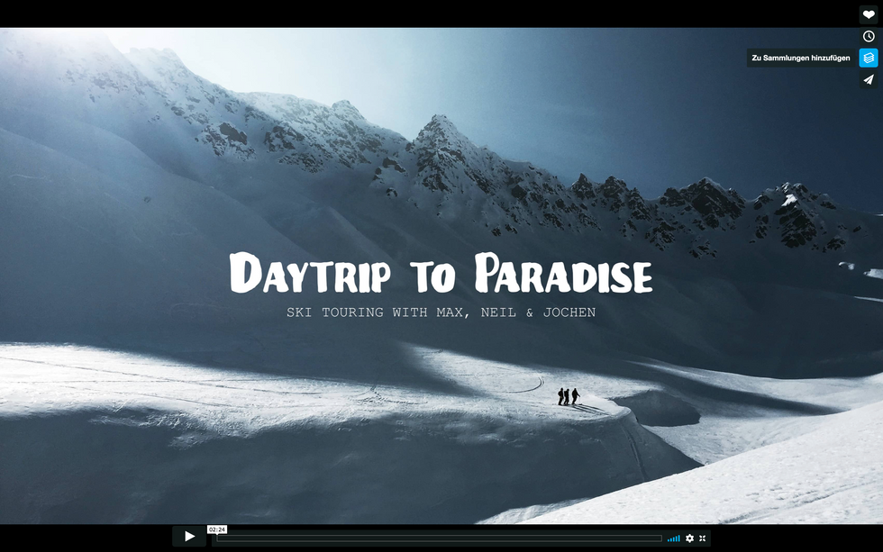 DAYTERIP TO PARADISE