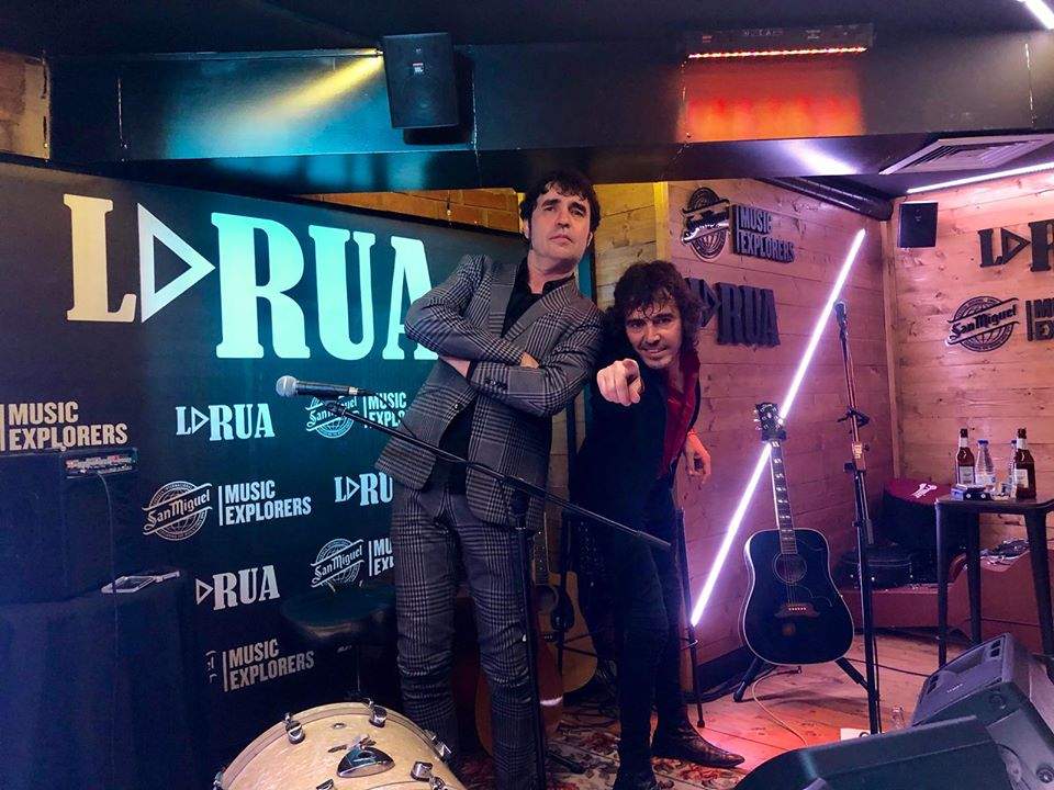 Lichis y Ruben Pozo