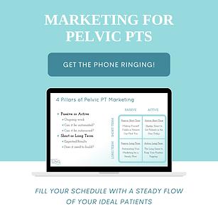 Marketing for Pelvic PTs
