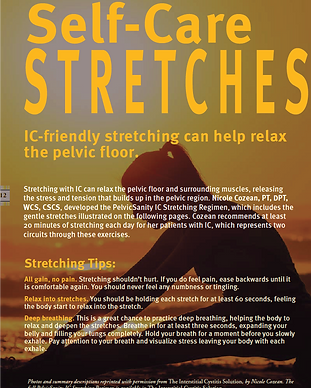 ICA Update - Self-Care Stretches for IC.